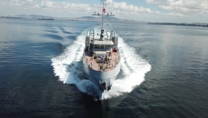 Cumhurbaşkanı Erdoğan'ın uçak gemisi çağrısına karşılık geldi;