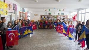 Rize Belediyesi'nden Bosna'ya Türkçe sınıfı