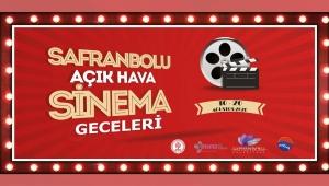 Safranbolu'da 'Açık Hava Sinema Geceleri' Başlıyor!