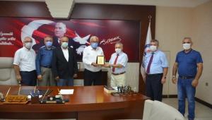Türk Hava Kurumu'ndan Posbıyık'a teşekkür ziyareti