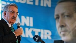 AK Parti'nin durduğu yer, milletin durduğu yerdir