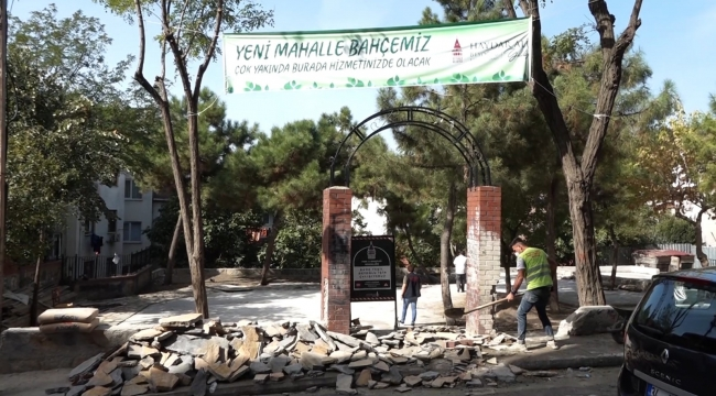 Beyoğlu Mahalle Bahçeleri İle Artık Daha Yeşil