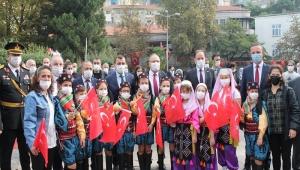 Cumhuriyetin 97. Yıldönümü Zonguldak'da Coşkuyla Kutlandı