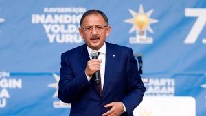 Ne zaman ki AK Parti iktidara geldi, bütün büyük projelerimizi alıp Ankara'ya gittim