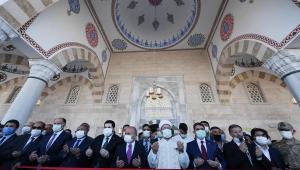 Patnos Recep Tayyip Erdoğan Camii dualarla açıldı