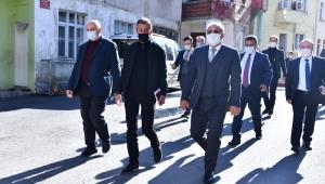 Başkan Zorluoğlu, mahalle ziyaretlerine devam ediyor