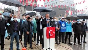 """""""KÖLELEŞTİRME PAKETİNE KARŞI MÜCADELEMİZİ YÜKSELTİYORUZ"""""""