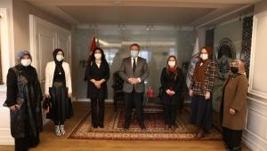 Kadın Kolları'ndan Başkan Palancıoğlu'na ziyaret