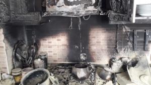 Yangın Büyümeden Kontrol Altına Alındı