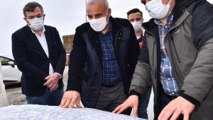 Başkan Zorluoğlu, Beşirli ve Kalkınma'da incelemelerde bulundu