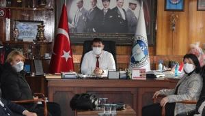 CHP'den, GMİS'e başsağlığı ziyareti