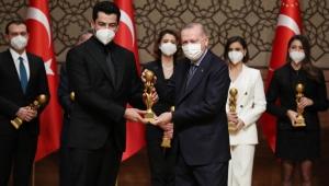 Cumhurbaşkanı Erdoğan, Radyo Televizyon Gazetecileri Derneği 2019 Yılı Medya Oscar Ödülleri Töreni'ne katıldı