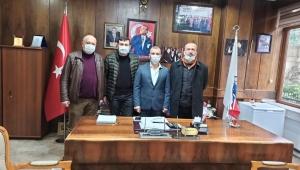 Emekli madenciden Demir'e veda ziyareti