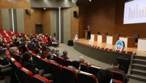 Palancıoğlu,2020 yılında gerçekleştirilen hizmetleri anlattı
