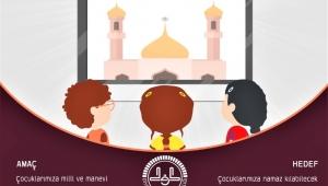 Rize'de, cami görevlileri çocuklarla çevrimiçi buluşuyor