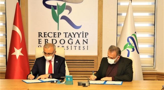 RTE Üniversitesi, HEGEM' le protokol imzalandı