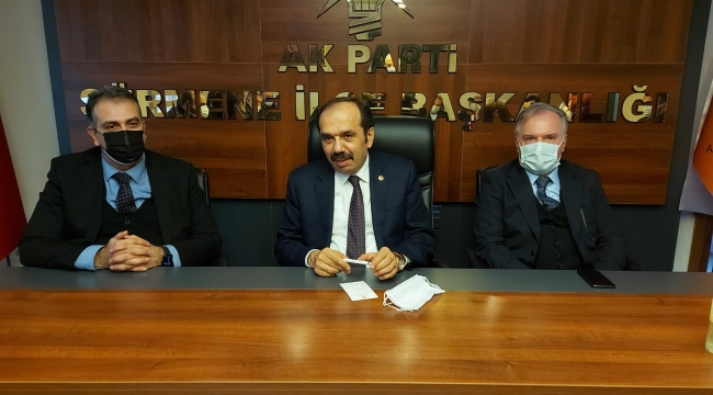 Trabzon Milletvekili Muhammet Balta, Sürmene ilçesini ziyaret etti