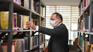 """Başkan Demir'den, """"29 Mart - 4 Nisan Kütüphane Haftası"""" mesajı"""