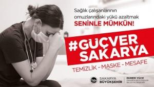 Büyükşehir'den #GÜÇVERSAKARYA kampanyası