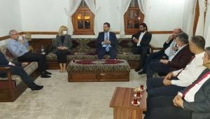 Mustafa Şen, Anadolu Yayıncılar Derneği tarafından organize edilen Anadolu Sohbetleri'ne katıldı.