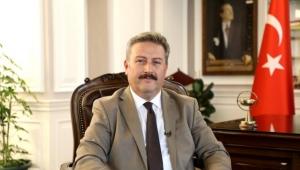 Palancıoğlu,Kayserili milli halterci Muammer Şahin'i tebrik etti