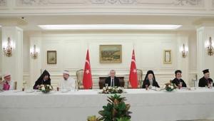 Cumhurbaşkanı Erdoğan, azınlık cemaatlerinin temsilcileriyle iftar yemeğinde bir araya geldi