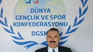 Dünya Gençlik ve Spor Konfederasyonu Genel Başkanı Türker AYGÜNDÜZ'ün. Ramazan Bayramı Mesajı
