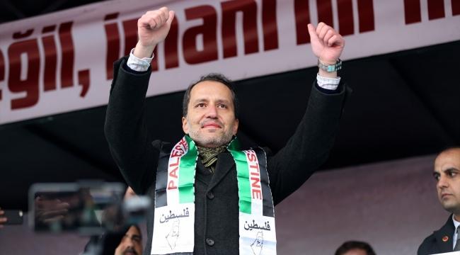 Erbakan'dan hayati 'Filistin' çağrısı: Acilen TSK öncülüğünde Barış Gücü kurulmalı