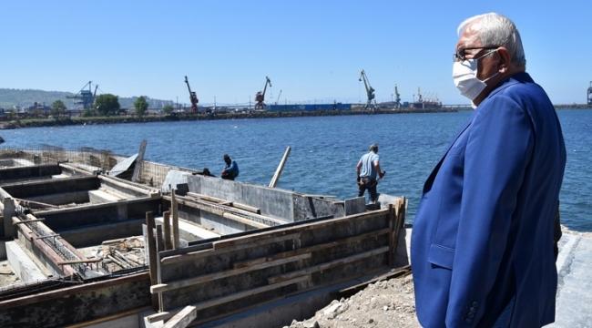 Kdz. Ereğli'ye Balık Restoranı Yapılıyor
