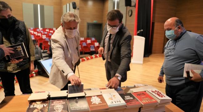 Melikgazi'den Cizre'ye Gönül Köprüsü Olacak 1000 Kitap Yola Çıktı