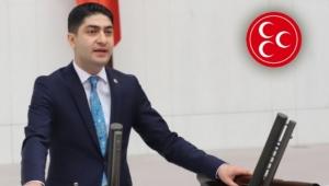MHP'li Özdemir: Aklınızca siyasete ayar verme cüretini nerden buluyorsunuz?