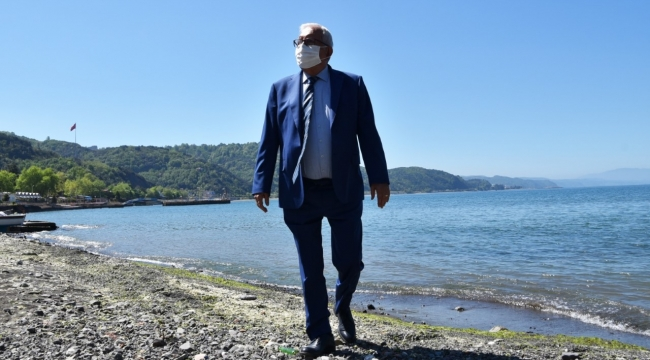 Posbıyık Ereğllilere Karadeniz'in kumsalı en uzun en güzel plajını hazırlıyor