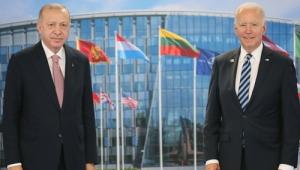Cumhurbaşkanı Erdoğan, ABD Başkanı Biden'la bir araya geldi