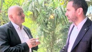 RÖPORTAJ ; AK Parti Rize İl Başkanı, İshak ALİM