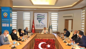 Recep Tayyip Erdoğan Üniversitesi'nde güvenlik toplantısı