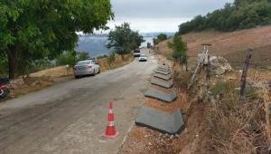 Sakarya Büyükşehir V Kanal imalatı ile yolları koruyor