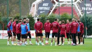 A Millî Takım'da Norveç maçı hazırlıkları sürüyor