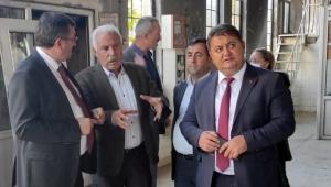 GMİS'TEN MTA'YA GEÇMİŞ OLSUN ZİYARETİ