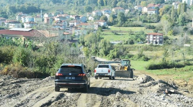 Kepez - Belen hattında yeni yollar açılıyor