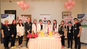 Sanko Üniversitesi Hastanesi'nde Meme Kanseri Farkındalık Ayı kapsamında etkinlik düzenlendi