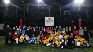 Trabzon'da gazetecilerin futbol turnuvası sona erdi