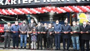 Ulus Pazarı Kartepe'nin en büyük kapalı pazarına taşındı