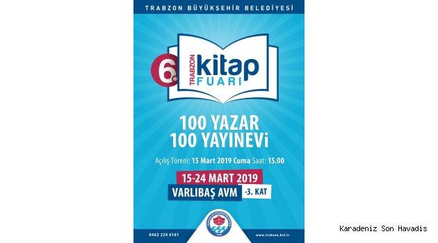 6'ıncı Trabzon Kitap Fuarı başlıyor