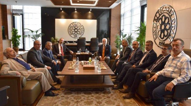 AK Parti Grup Başkan Vekili Mustafa Elitaş'dan, KTO'ya Ziyaret