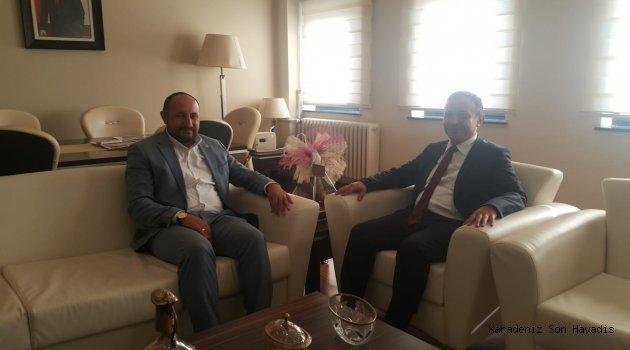 AK Parti Kayseri Milletvekili Karayel,Rektör Çalış'ı Ziyaret Etti