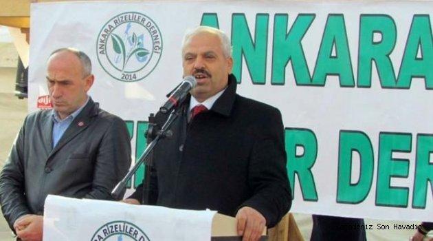 Röportaj : Ankara Rize'liler Derneği Başkanı İdris Kansızoğlu