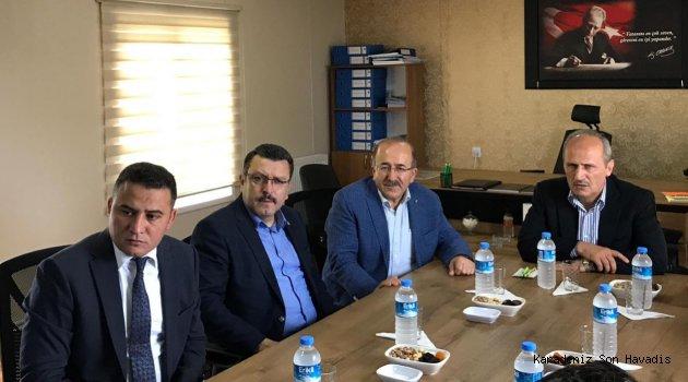 Bakan Turan ve Başkan Gümrükçüoğlu yatırımları değerlendirdi