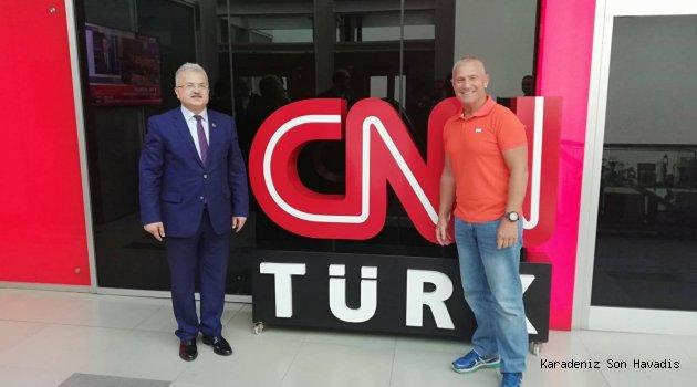 BAŞKAN KASAP, İSTANBUL'DA ULUSAL MEDYANIN ÖNDE GELEN YONETİCİLERİ İLE BİR ARAYA GELDİ