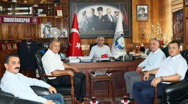 BELEDİYE-İŞ SENDİKASI'NDAN GMİS'E ZİYARET