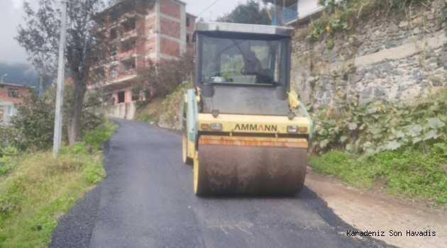 Beşköy'de asfalt mutluluğu